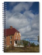 Au Sable Lighthouse 2 Spiral Notebook