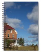 Au Sable Lighthouse 4 Spiral Notebook