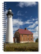 Au Sable Lighthouse 5 Spiral Notebook
