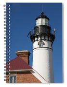Au Sable Lighthouse 6 Spiral Notebook