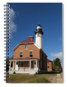 Au Sable Lighthouse 7 Spiral Notebook
