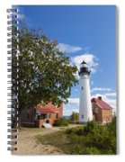 Au Sable Lighthouse 9 Spiral Notebook