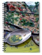 Aubergine In Olive Oil Spiral Notebook