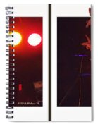 Audio Outlaws - Cross Your Eyes And Focus On The Middle Image Spiral Notebook