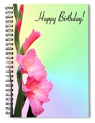 August Birthday Spiral Notebook