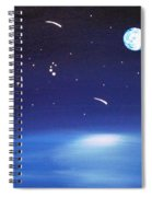 August Celestial Trinity Spiral Notebook