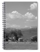 August Hay 75th  St Boulder County Colorado Black And White  Spiral Notebook