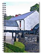 Auld Mill  Spiral Notebook