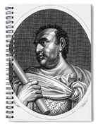 Aulus Vitellius (15-69 A.d.) Spiral Notebook