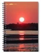 Aura Of A Sunset Spiral Notebook