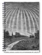 Aurora Borealis, 1837 Spiral Notebook