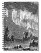 Aurora Borealis, 1868 Spiral Notebook