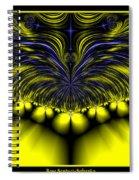 Aurora Borealis Dreams Fractal 58 Spiral Notebook
