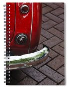 Austin Healey Spiral Notebook