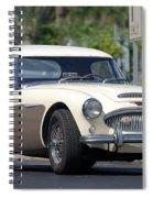 Austin Healey Spiral Notebook