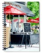 Austin's Spiral Notebook