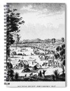 Australia: Gold Rush, 1851 Spiral Notebook