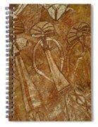 Indigenous Aboriginal Art 2 Spiral Notebook