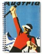Austria Spiral Notebook