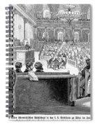 Austrian Assembly, 1848 Spiral Notebook