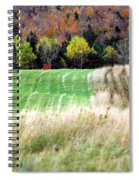Autmnfield Spiral Notebook