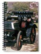 Auto: Daimler, 1899 Spiral Notebook