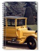 Auto: Daimler, 1913 Spiral Notebook