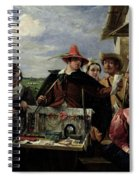Autolycus Scene From 'a Winter's Tale' Spiral Notebook
