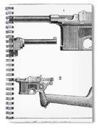 Automatic Pistols Spiral Notebook