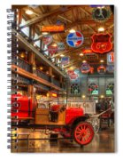 Automobile Paradise Spiral Notebook