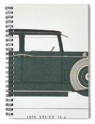 Automobile: Stutz, 1929 Spiral Notebook