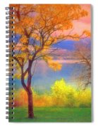 Autum Morning Spiral Notebook