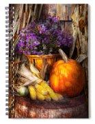 Autumn - Autumn Is Festive  Spiral Notebook