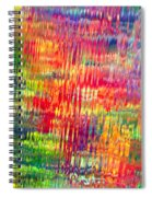 Autumn Abstarcts Spiral Notebook