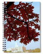 Autumn Afternoon In Peterborough Spiral Notebook