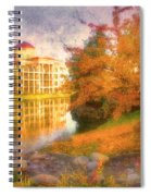 Autumn And Architecture Spiral Notebook