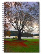 Autumn At British Camp Spiral Notebook