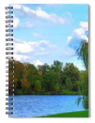 Autumn At Hoyt Lake Spiral Notebook