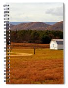 Autumn Barn In Green Bank Wv Spiral Notebook