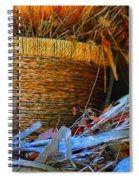 Autumn Basket Spiral Notebook