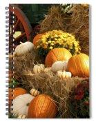 Autumn Bounty Spiral Notebook