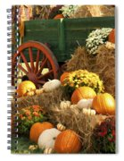 Autumn Bounty Vertical Spiral Notebook