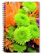 Autumn Bouquet Spiral Notebook