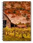 Autumn Cabernet Spiral Notebook