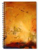 Autumn Canvas Spiral Notebook