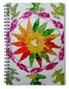 Autumn Chakra Spiral Notebook