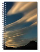 Autumn Clouds Jasper 1 Spiral Notebook