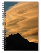 Autumn Clouds Jasper 2 Spiral Notebook