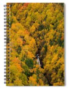 Autumn Colour And Waterfalls, Cape Spiral Notebook