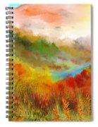 Autumn Daze Spiral Notebook